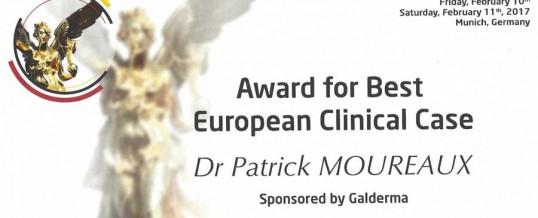 Dr Patrick MOUREAUX 1er prix des cas cliniques