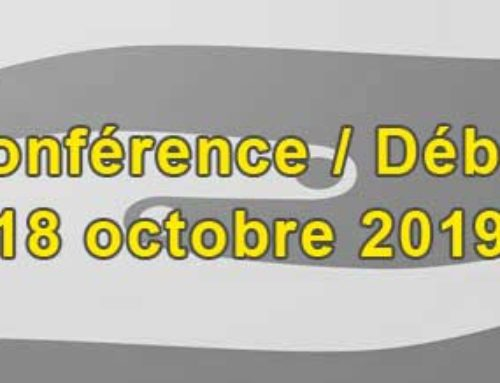 Conférence débat 18 Octobre 2019